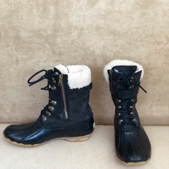 Jcrew Shearwater Buckle Boots   Poshmark